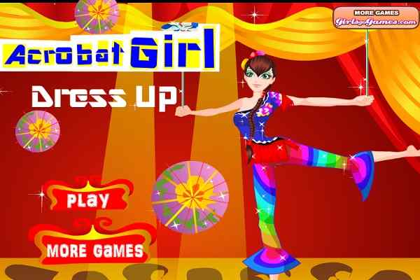 Play Acrobat Girl Dress Up
