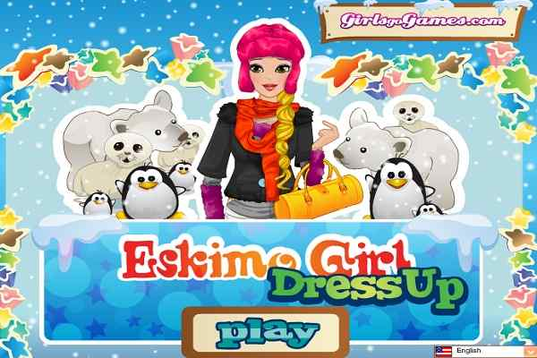 Play Eskimo Girl Dress Up