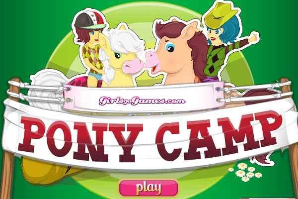 Play Pony Camp Dress Up