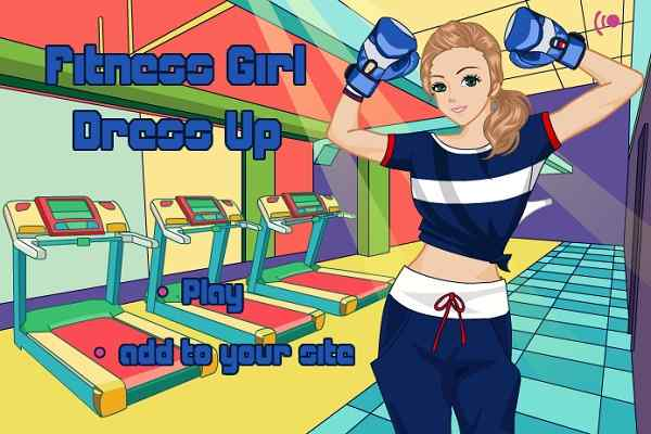 Play Fitness Girl Dress Up