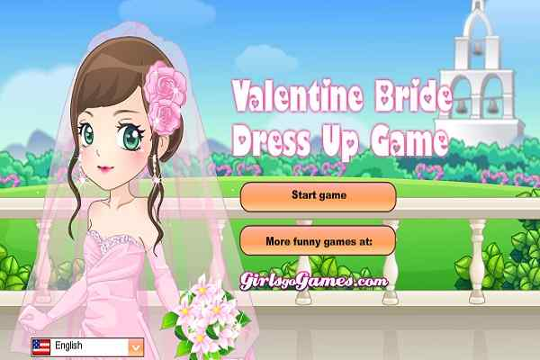 Play Valentine Bride Dress Up
