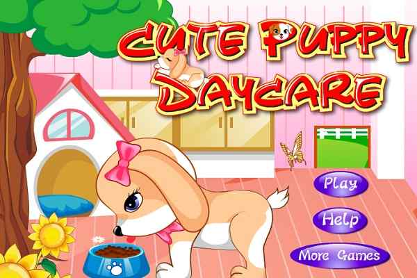 Play Cute Puppy Daycare
