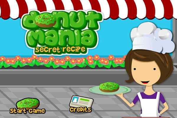 Play Donut Mania Secret Recipe