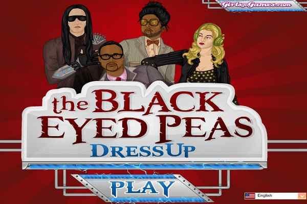 Play The Black Eyed Peas Dress Up