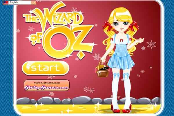 Play The Wizard of Oz Dress Up