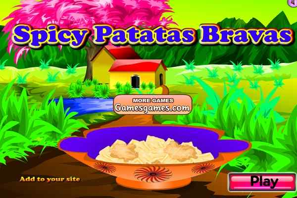 Play Spicy Patatas Bravas