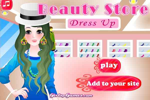 Play Beauty Store Dress Up