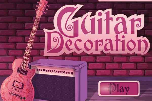 Play Guitar Decoration