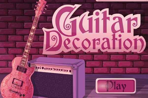 Play Guitar Decoration