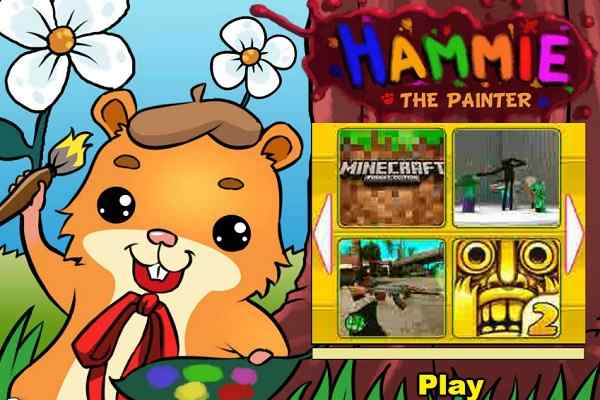 Play Hammie the Painter
