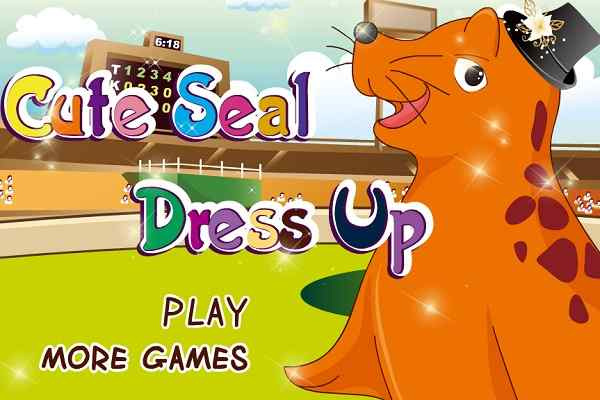 Play Cute Seal Dress Up
