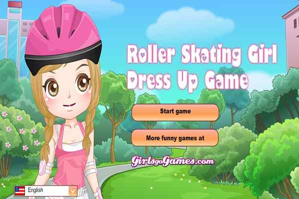 Play Roller Skating Girl Dress Up