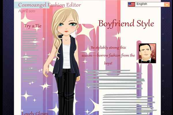 Play Fashion Editor April