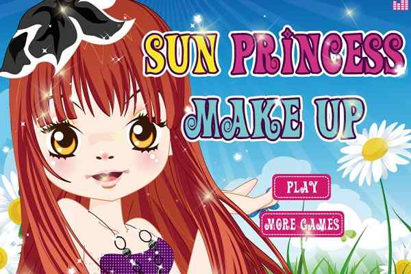 Play Sun Princess MakeUp