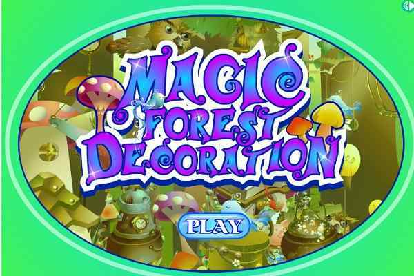 Play Magic Forest Decoration
