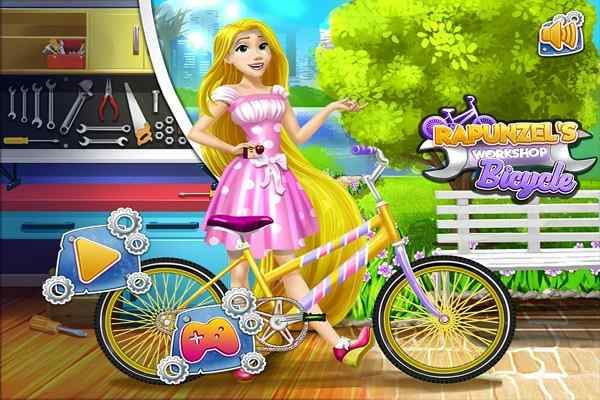 Play Rapunzel Workshop Bicycle