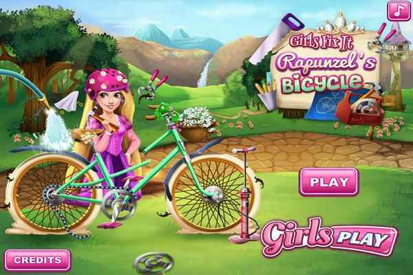 Play Rapunzel's Bicycle