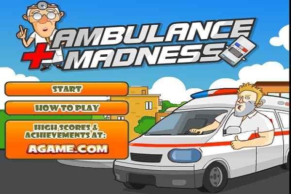 Play Ambulance Madness