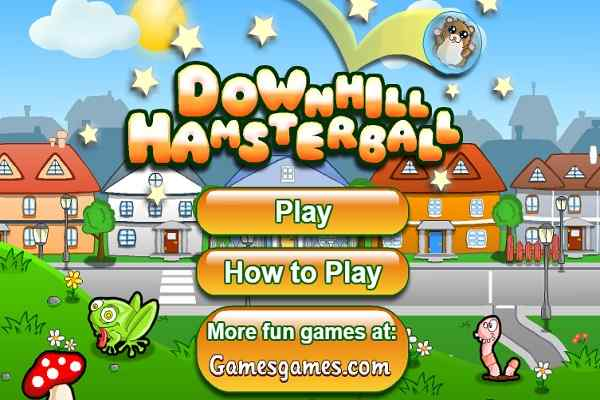 Play Downhill Hamsterball