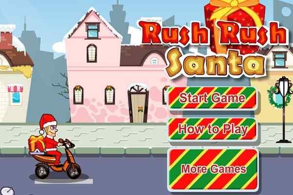 Play Rush Rush Santa