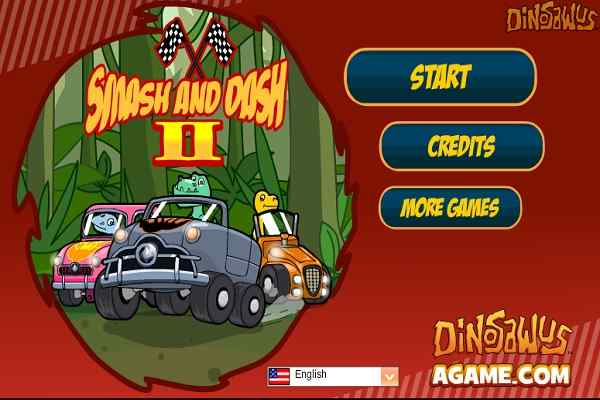 Play Dinosawus Smash  Dash 2