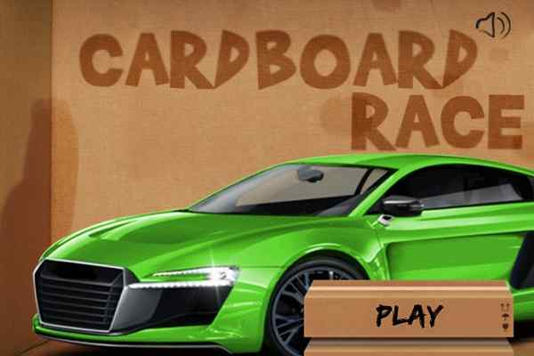 Play Cardbox Race