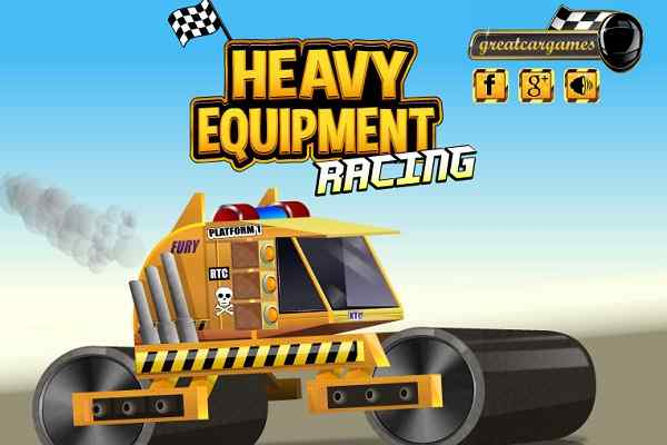 Play Heavy Equipment Racing