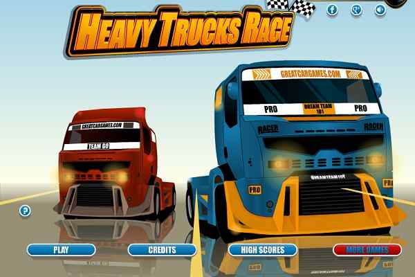 Play Heavy Trucks Race