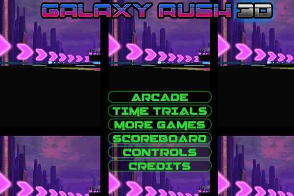 Play Galaxy Rush 3D