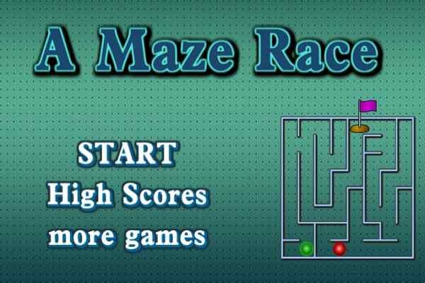 Play A Maze Race