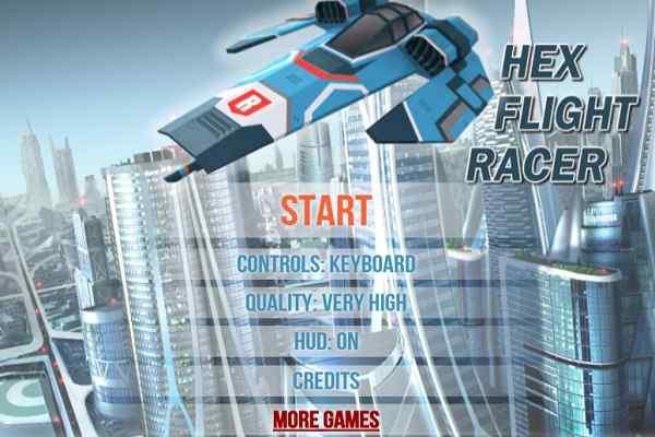 Play Hex Flight Racer
