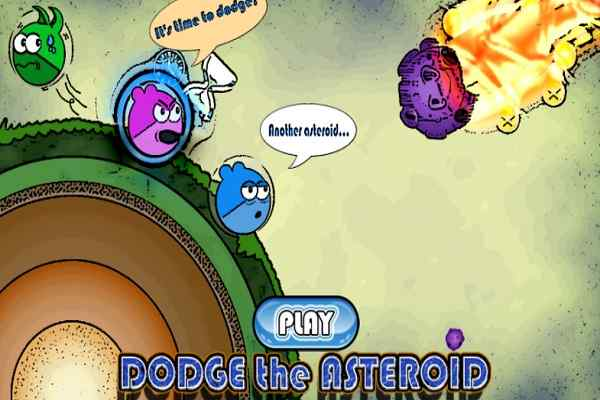 Play Dodge the Asteroid Wild World Platform