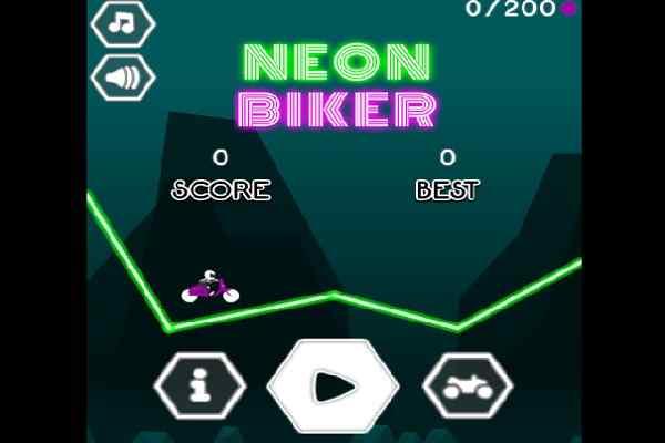 Play Neon Biker
