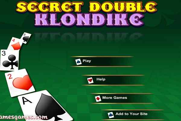 Play Secret Double Klondike