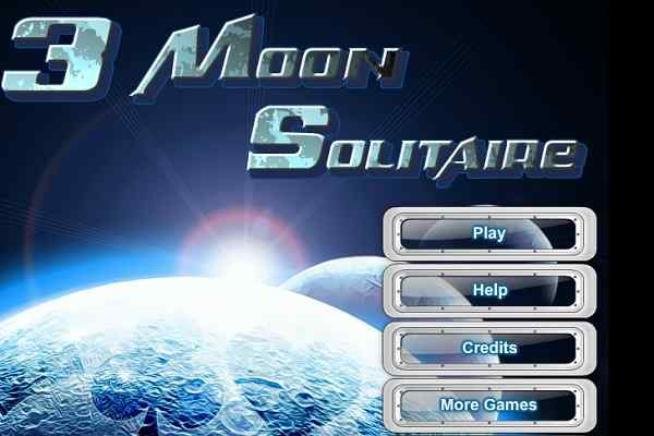 Play 3 Moon Solitaire