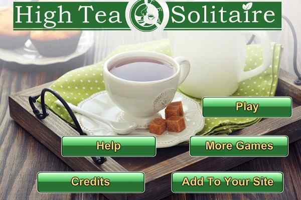 Play High Tea Solitaire