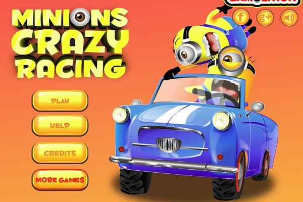 Play Minions Crazy Racing