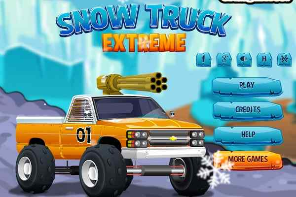 Play Snow Truck Extreme