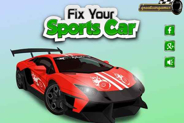 Play Fix Your Sports Car