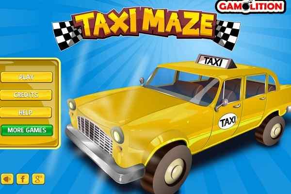 Play Taxi Maze