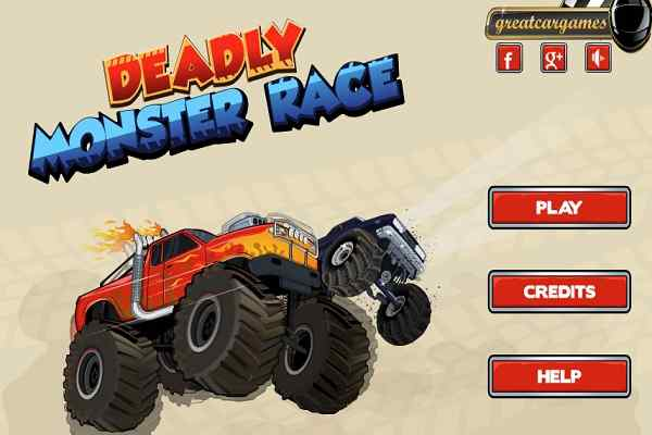 Play Deadly Monsters Race