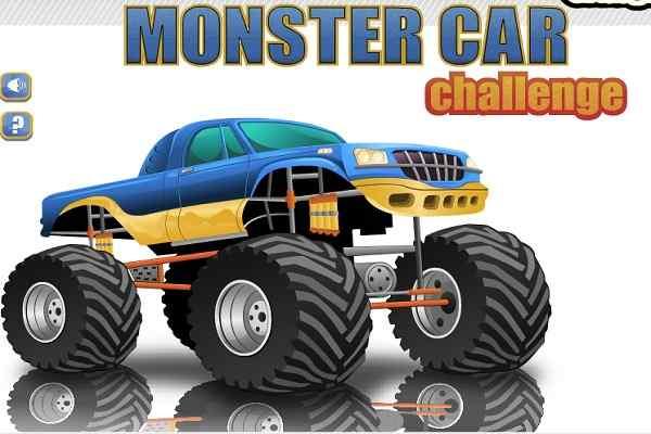 Play Monster Car Challenge