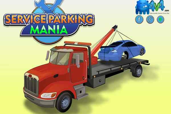 Play Service Parking Mania