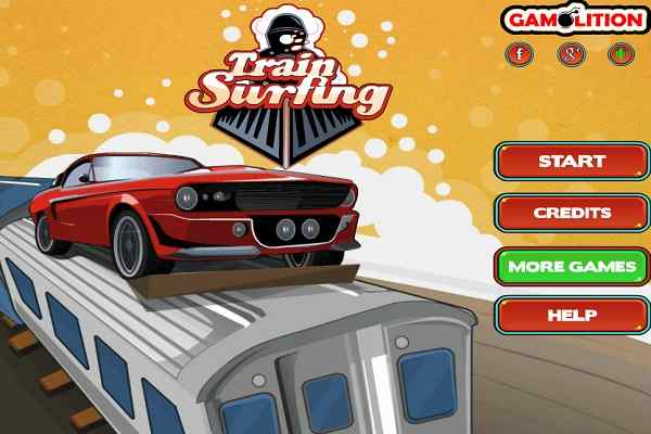 Play Train Surfing
