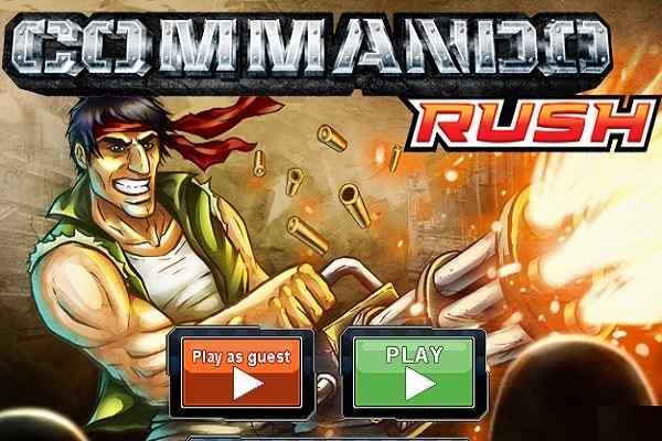 Play Commando Rush
