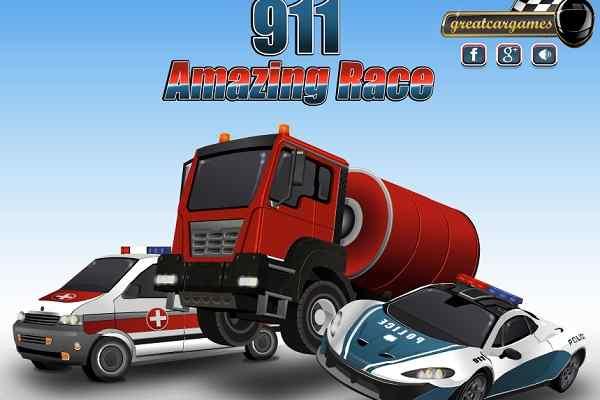 Play 911 Amazing Race