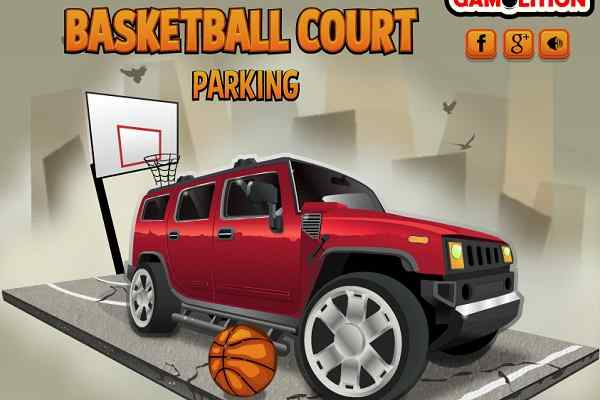 Play Basketball Court Parking