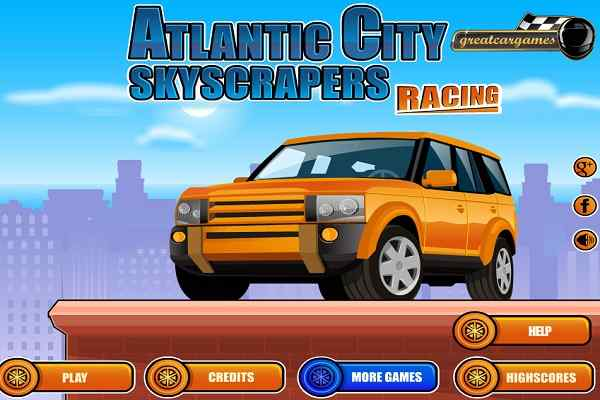 Play Atlantic City Skyscrapers Racing