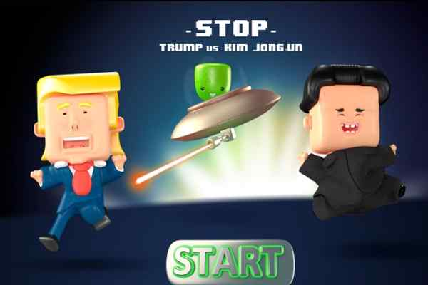 Play STOP Trump vs Kim JongUn