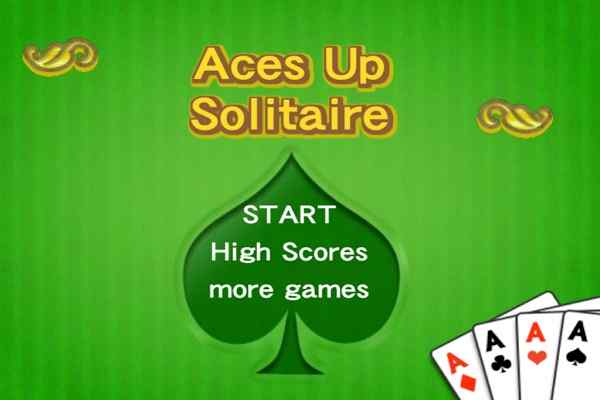 Play Aces Up Solitaire